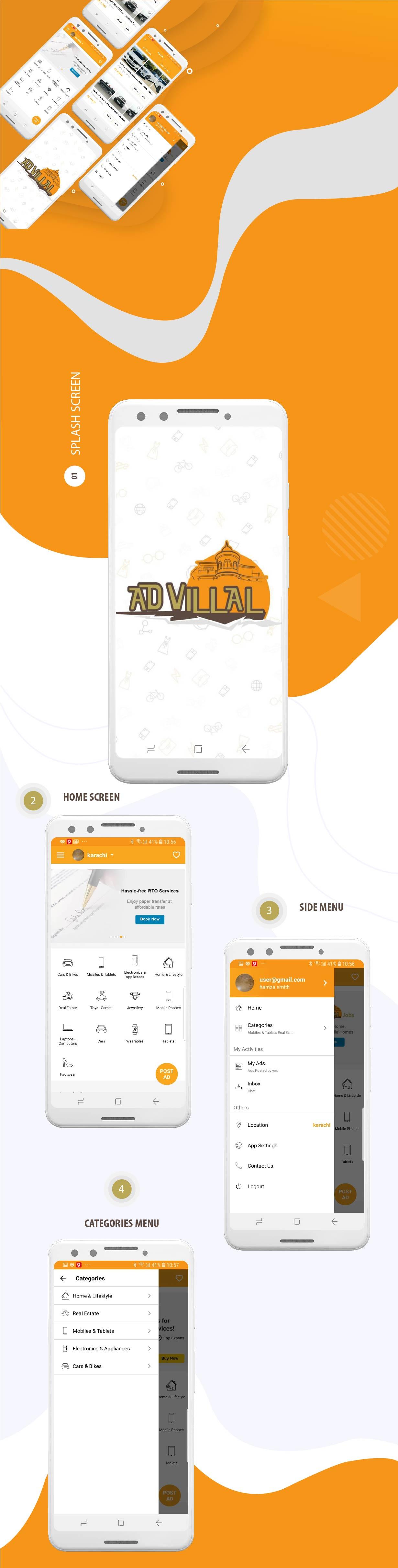 Advilla - Classified Android Native App v1.0.1 - 3