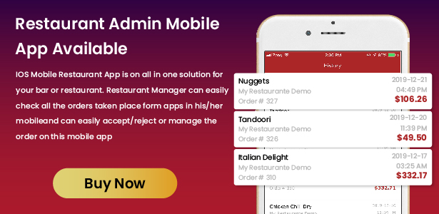 Restaurant Food Delivery & Ordering System With Delivery Boy - iOS - 8