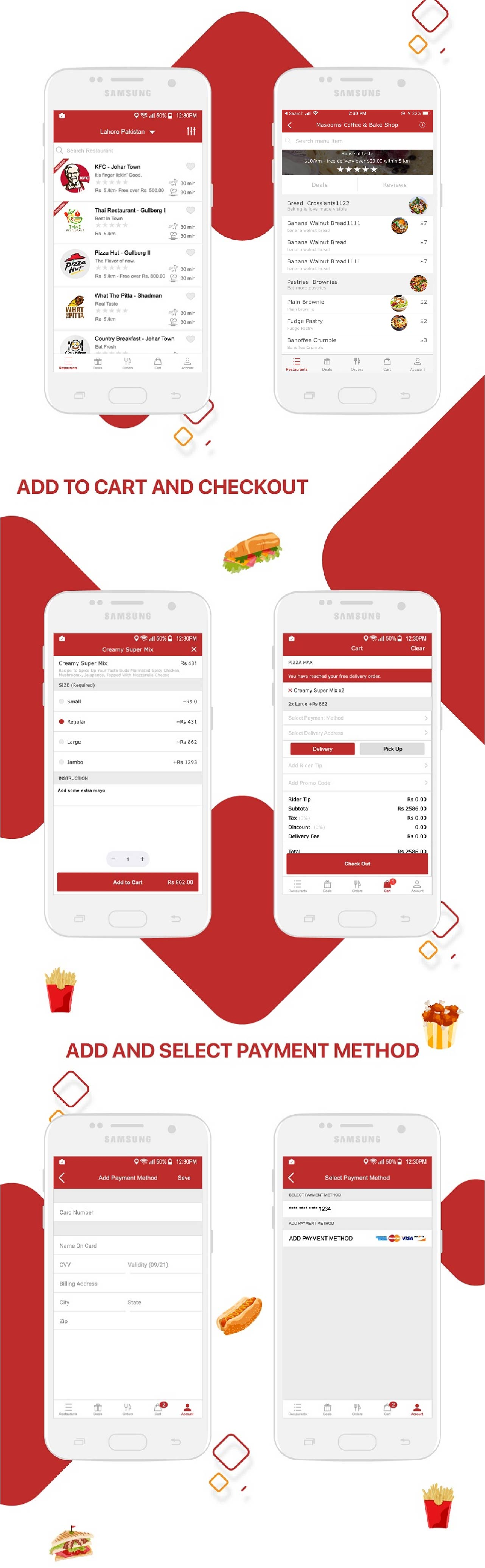 Restaurant Food Delivery & Ordering System With Delivery Boy - iOS - 12
