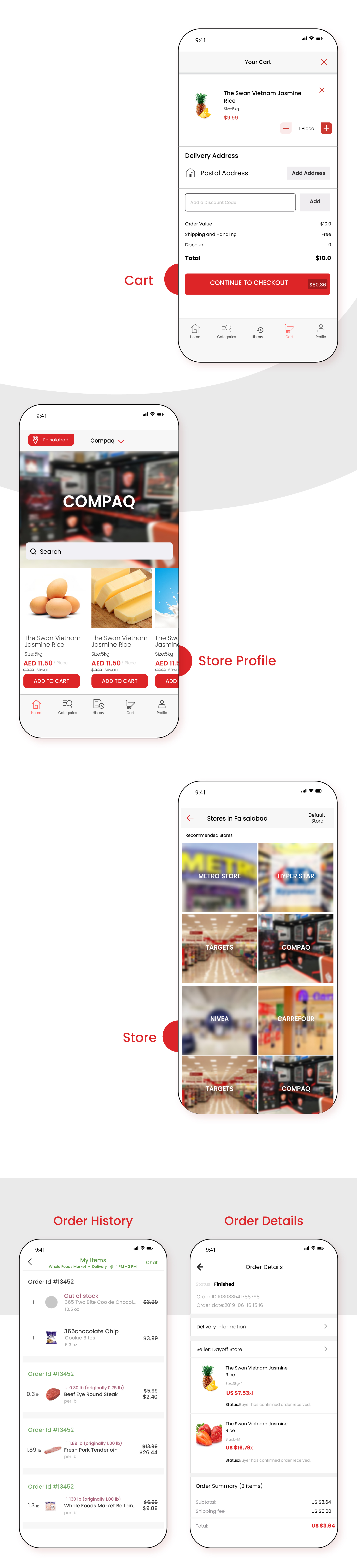 Native Multi Vendor Grocery, Food, Pharmacy, Store Delivery Mobile App with Admin Panel - 3
