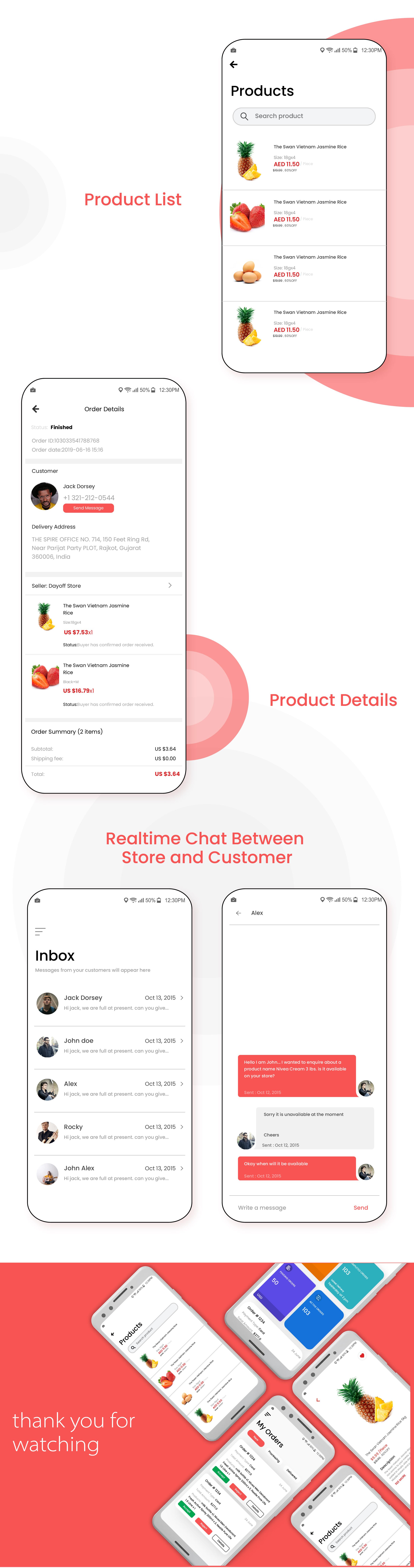 Freshly IOS - Native Grocery Vendor / Store Owner App - 4