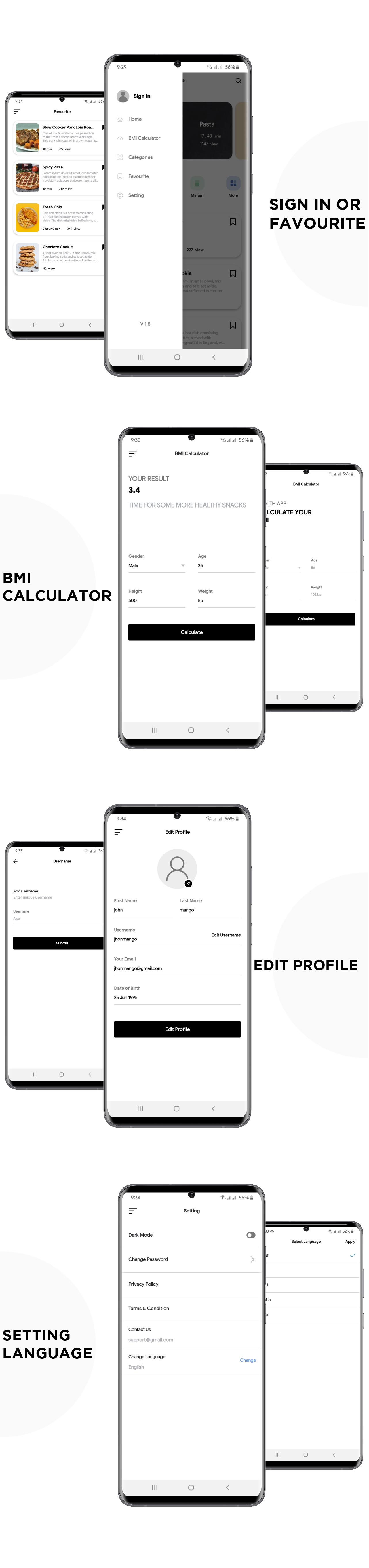 Yummy - Food Recipe Native IOS App With Admin Panel - 4